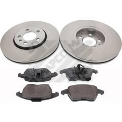 Kit disques et plaquettes de frein MAPCO - 47934