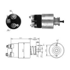 Solenoid Switch- starter MEAT AND DORIA - 46317