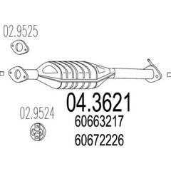 Catalyseur MTS - 04.3621