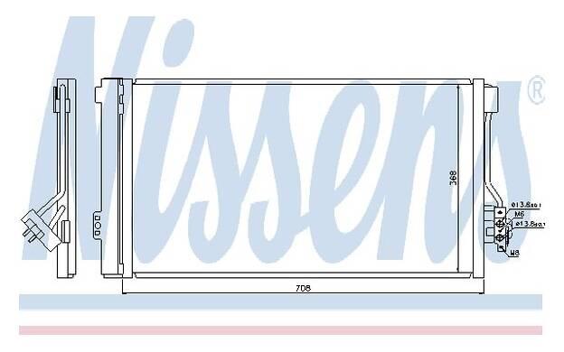 climatisation NISSENS Condenseur 940458