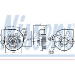Interieurventilator NISSENS - 87028