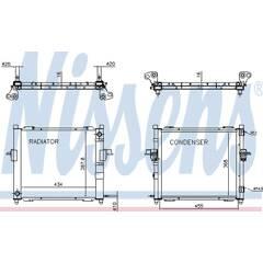 Module de refroidissement NISSENS - 637635