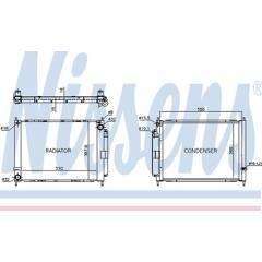 Module de refroidissement NISSENS - 637636