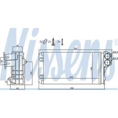 Radiateur de chauffage NISSENS - 72941