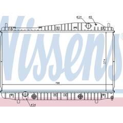 Radiateur NISSENS - 61639