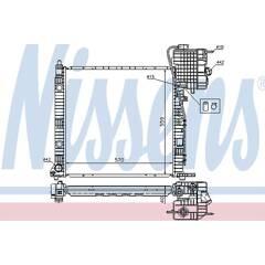 Radiateur NISSENS - 62559A