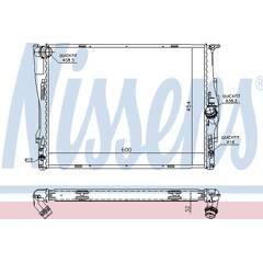 Radiator, engine cooling NISSENS - 60786A