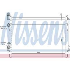 Radiator, engine cooling NISSENS - 65012