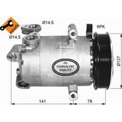 Compresseur de climatisation NRF - 32411