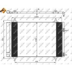 Condenseur de climatisation NRF - 35610