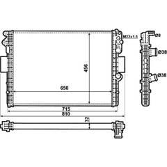 Radiateur NRF - 53612