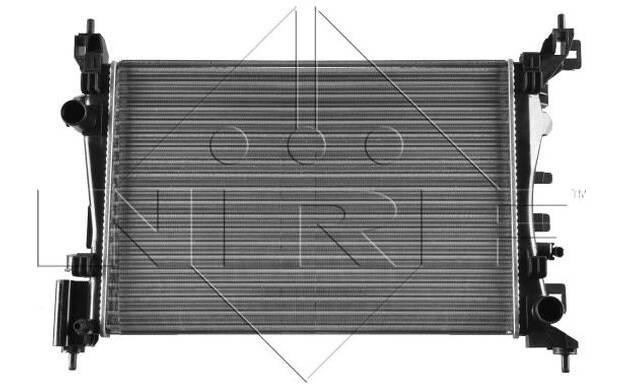 RADIATORE RAFFREDDAMENTO MOTORE-NRF 53115