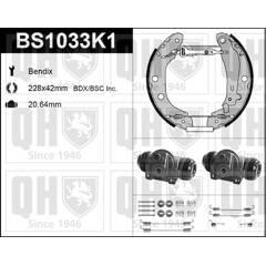 Brake Set, drum brakes QUINTON HAZELL - BS1033K1