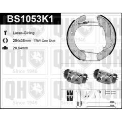 Brake Set, drum brakes QUINTON HAZELL - BS1053K1