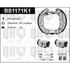 Brake Set, drum brakes QUINTON HAZELL - BS1171K1