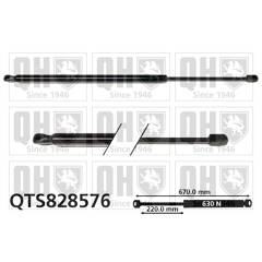Gas Spring, boot QUINTON HAZELL - QTS828576