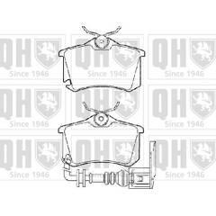 Plaquettes de frein Set BP1455 Quinton Hazell 7H0698151 23749 23747 23746 qualité neuf