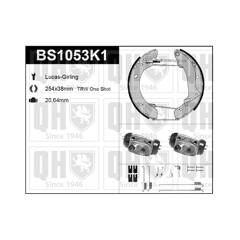 Kit de freins arrière (prémontés) QUINTON HAZELL - BS1053K1