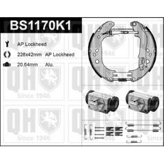 Kit de freins arrière (prémontés) QUINTON HAZELL - BS1170K1
