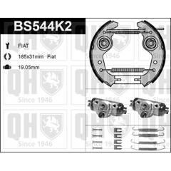 Kit de freins arrière (prémontés) QUINTON HAZELL - BS544K2