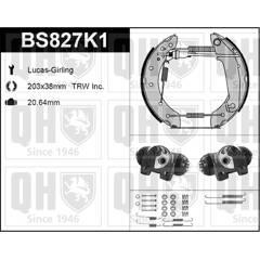 Kit de freins arrière (prémontés) QUINTON HAZELL - BS827K1