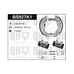 Kit de freins arrière (prémontés) QUINTON HAZELL - BS927K1
