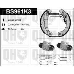 Kit de freins arrière (prémontés) QUINTON HAZELL - BS961K3