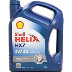 Huile moteur HELIX HX7 5W40 - 5 Litres SHELL - 550040520