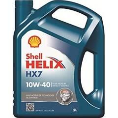 Huile moteur HELIX HX7 10w40 - 5 Litres SHELL - 550041040