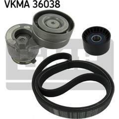 Kit de courroies d'accessoire SKF - VKMA 36038