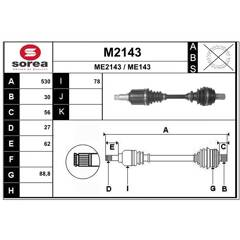 Cardan SNRA - M2143