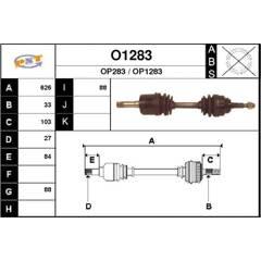 Cardan SNRA - O1283