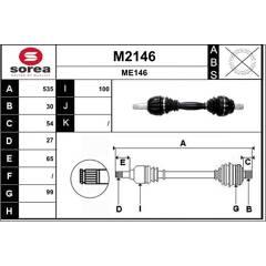 Drive Shafts SNRA - M2146