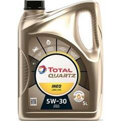 Engine Oil Quartz Inéo Long Life 5W-30 - 5 Liters TOTAL - 213819