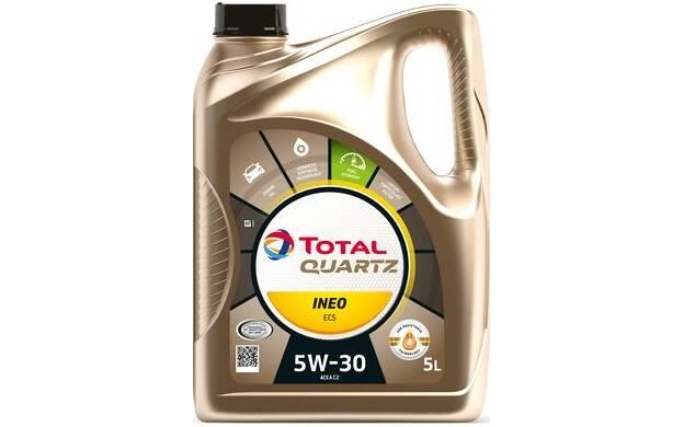 Engine Oil Quartz Ineo ECS 5W-30 C2 - 5 Liters