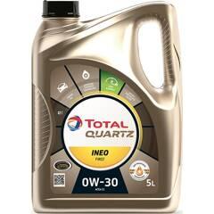 Engine Oil Quartz Ineo First 0W-30 - 5 Liters TotalEnergies - 213833