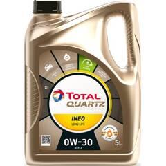 Engine Oil Quartz Ineo Long Life 0W-30 - 5 Liters TotalEnergies - 214225