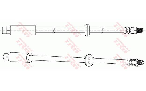 Bremsschlauch TRW PHC205