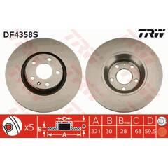 Freins avant 1lt 2.0 tdi 2.4 AUDI a6 type 4f c6 Disques de frein 314mm plaquettes de freins
