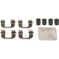 Kit d'accessoires (plaquette de frein) TRW - PFK698