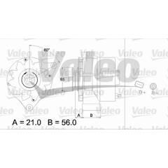 Alternateur VALEO - 436298