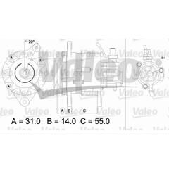 Alternator VALEO - 437145