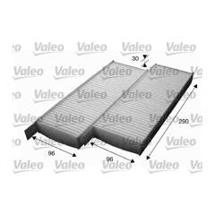 Cabin air filter VALEO - 715554
