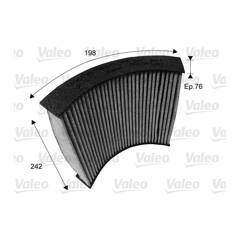 Cabin air filter VALEO - 715719