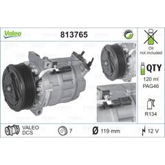 Compresseur de climatisation VALEO - 813765