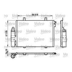 Condenser, air conditioning VALEO - 817171