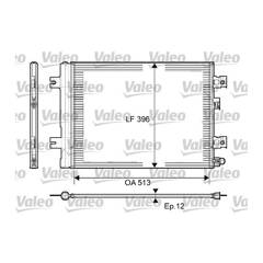Condenseur de climatisation VALEO - 814077