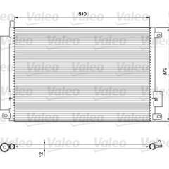 Condenseur de climatisation VALEO - 814155