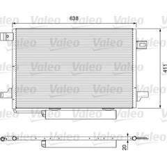 Condenseur de climatisation VALEO - 814249