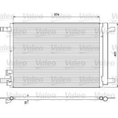 Condenseur de climatisation VALEO - 814375